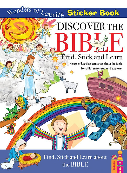 Sticker Book - Discover the Bible