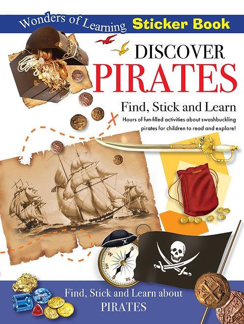 Sticker Book - Discover Pirates