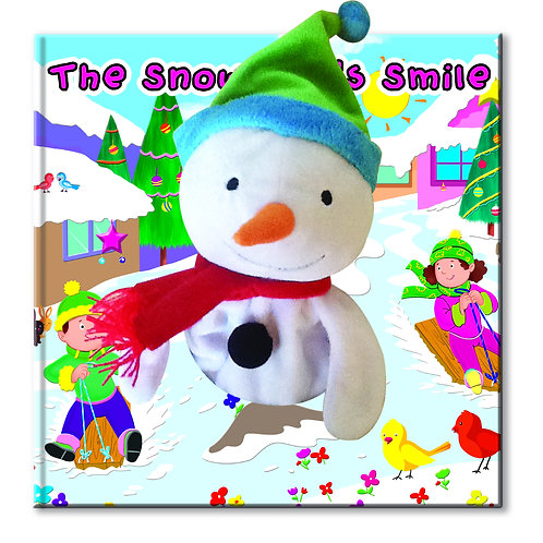 The Snowman's Smile - Hand Puppet Book