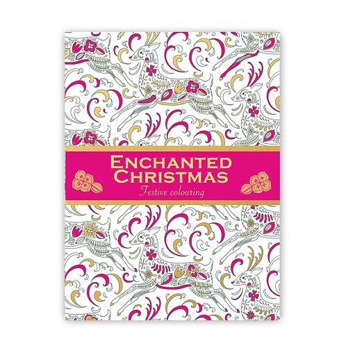 Enchanted Christmas Festive Colouring