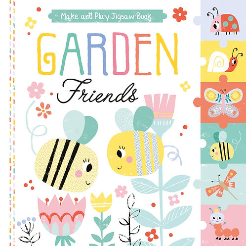Pull Out Jigsaw Book - Garden Friends