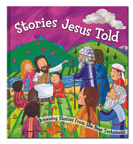 Stories Jesus Told - Bible Story Book