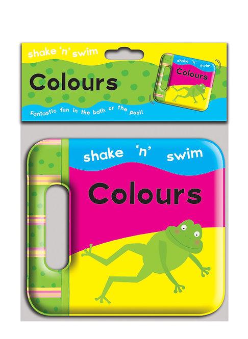 Shake 'n' Swim Colours Bath Book