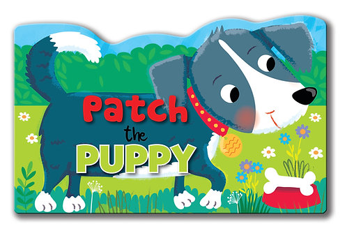 Patch the Puppy - Shaped Animal Book