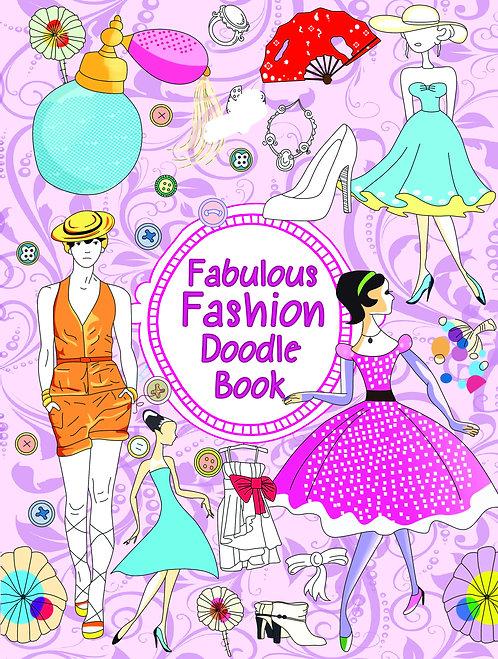 Doodle Colouring Book - Fabulous Fashion