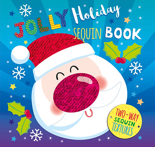 Jolly Holiday Sequin Book