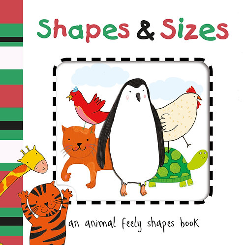 Shapes and Sizes Cut Out Board Book