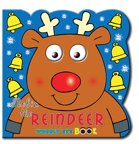 Reindeer - Wobbly Eye Book