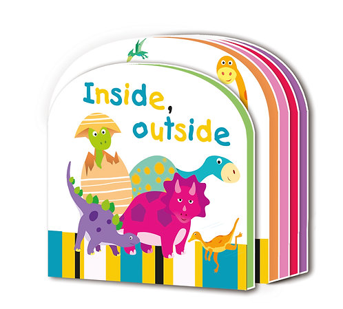 Inside, Outside Early Learning EVA Book