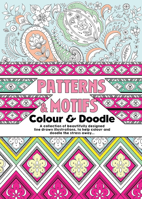 Patterns & Motifs Adult Colouring Book