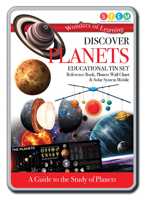 Tin Set - Discover Planets