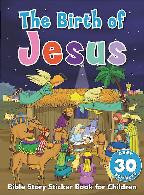 The Birth of Jesus - Bible Sticker Book