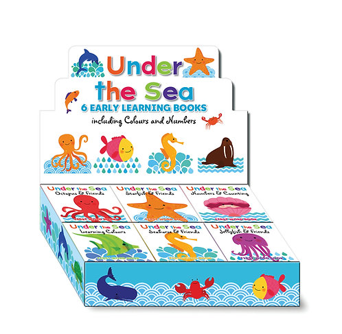 Sea Friends First Words Mini Board Books