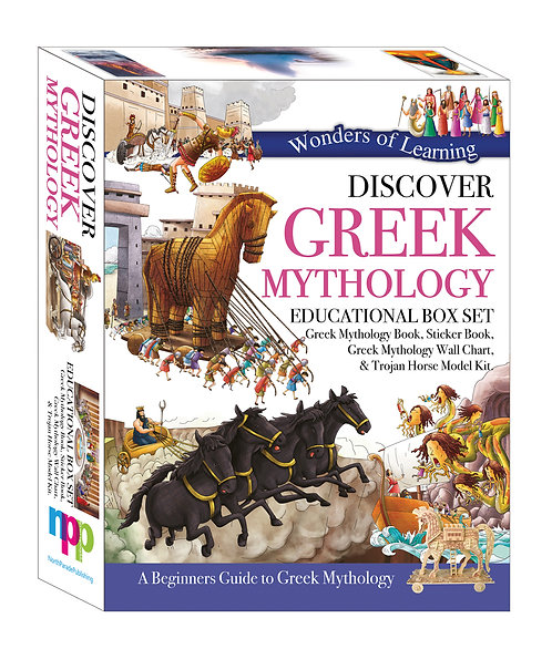 Wonders of Learning Box Set - Discover Greek Mythology
