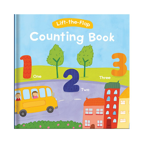 Lift-the-Flap Book - Counting