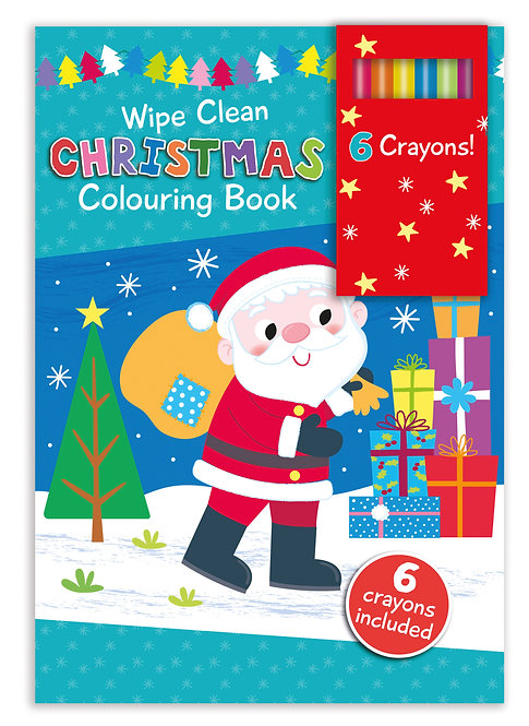 Santa - Wipe Clean Christmas Colouring Book