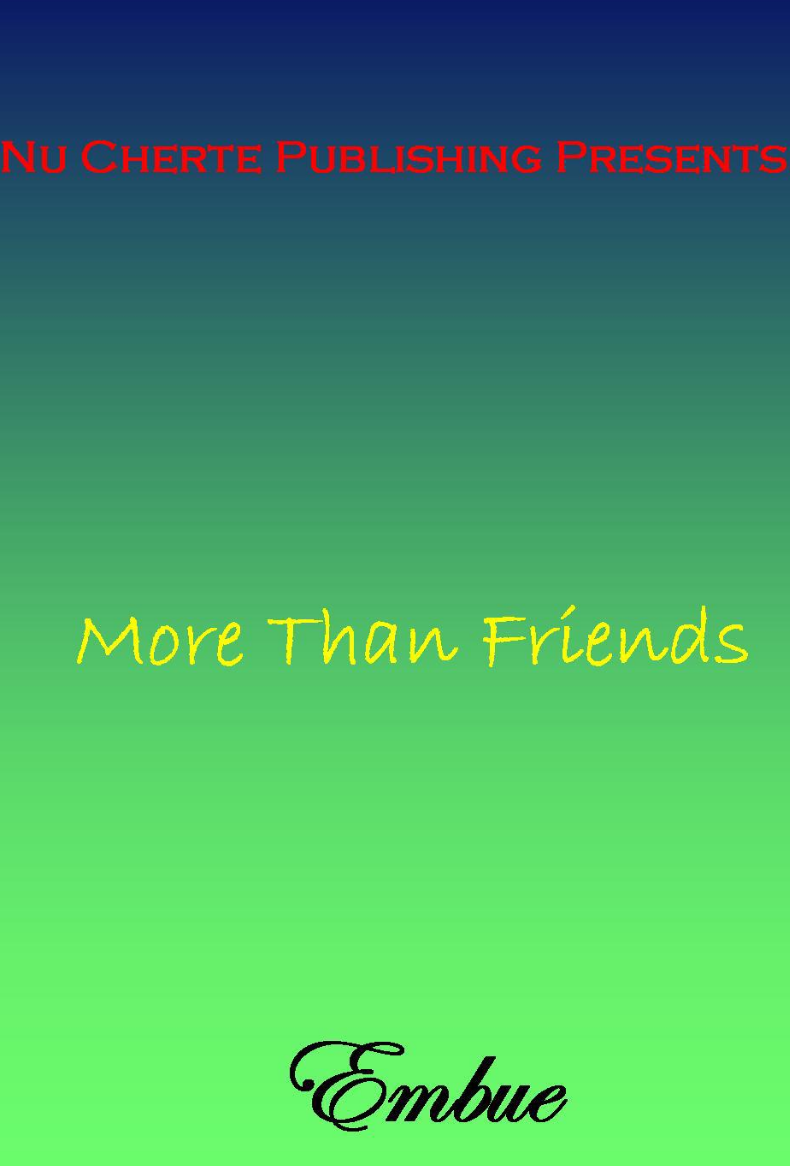 More Than Friends (NOL Series4)