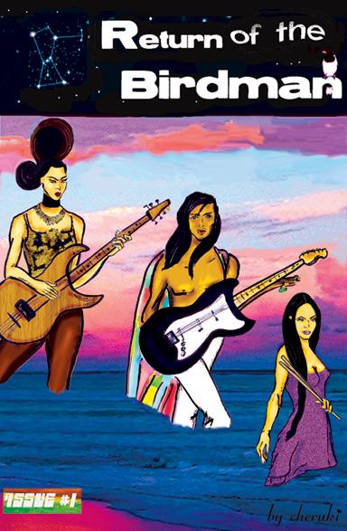 BeOmega Comic Book Cover