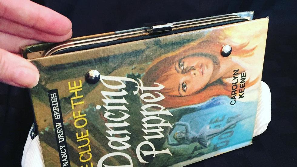 Nancy Drew Dancing Puppet book purse