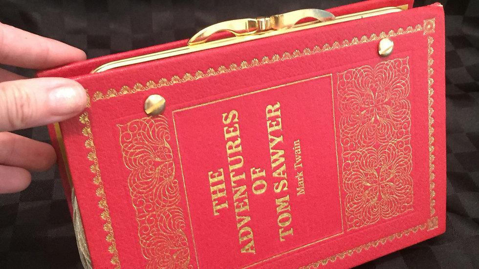 Adventures of Tom Sawyer Book Clutch