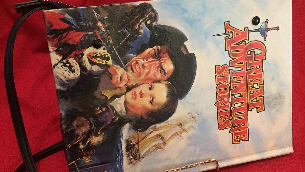 Classic Adventures Vintage Book Bag