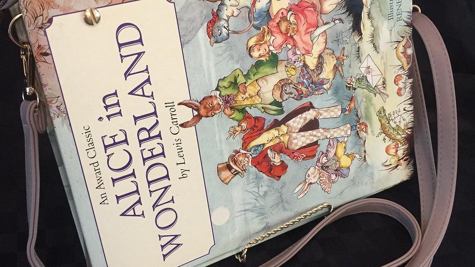 Alice in Wonderland Whimsical Handbag