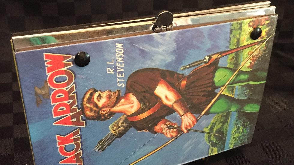 The Black Arrow Book Purse