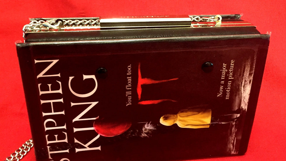 Stephen King's IT Book clutch