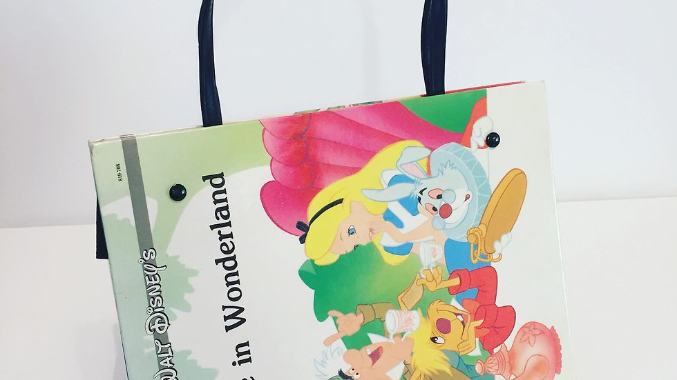 Disney Alice in Wonderland Book Bag