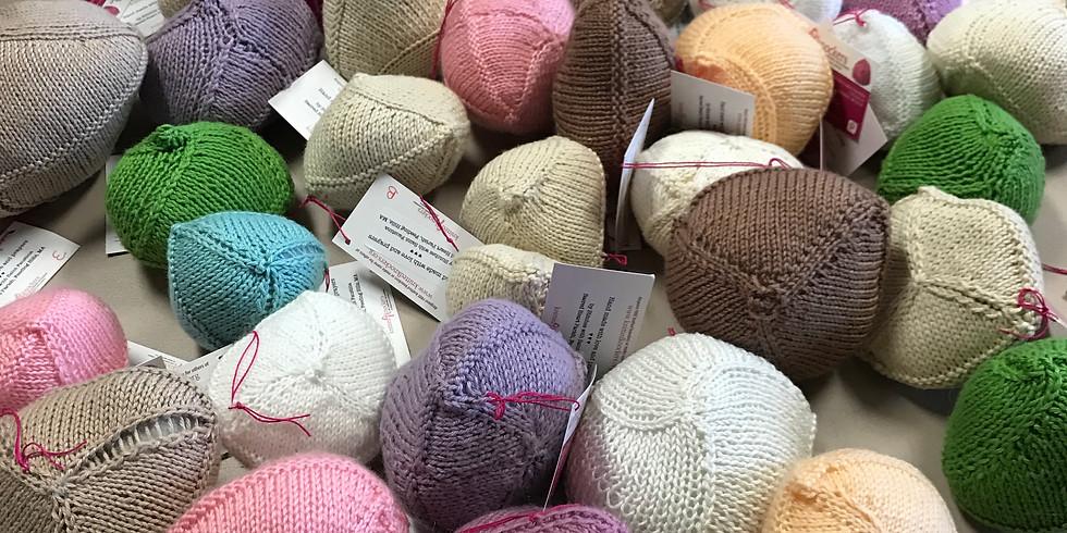 Free Knitted Knocker Workshop