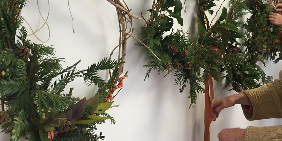 Ribbons and Wreaths Workshop