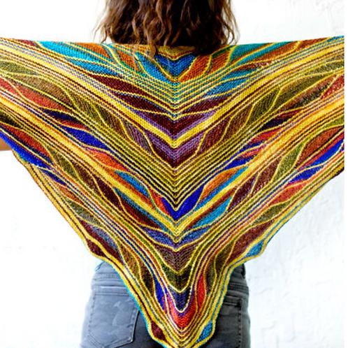 Butterfly Shawl Kit - Urth Yarns