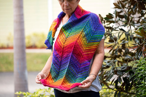 Urth Yarns Chevron Scarf Kit