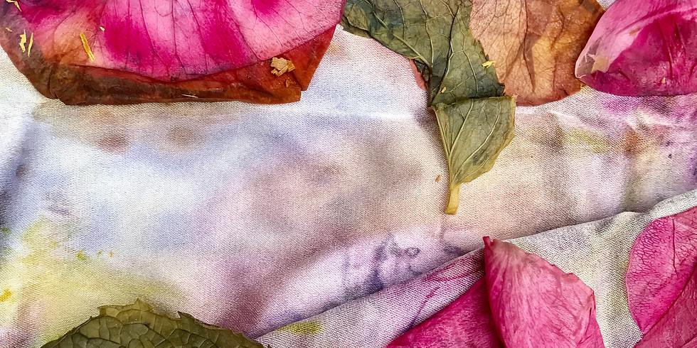 DYEING WITH FLOWERS