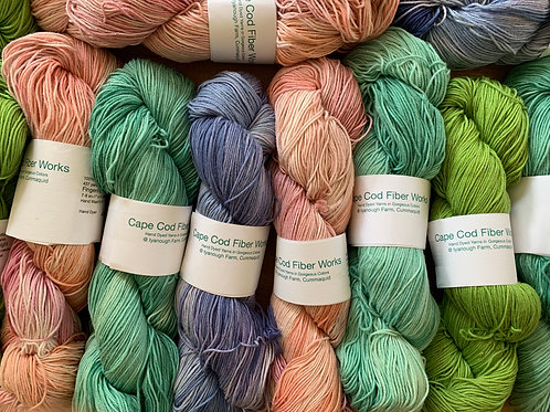 Hand Dyed Organic Cotton