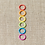 Thumbnail: Cocoknits Colored Ring Stitch Markers