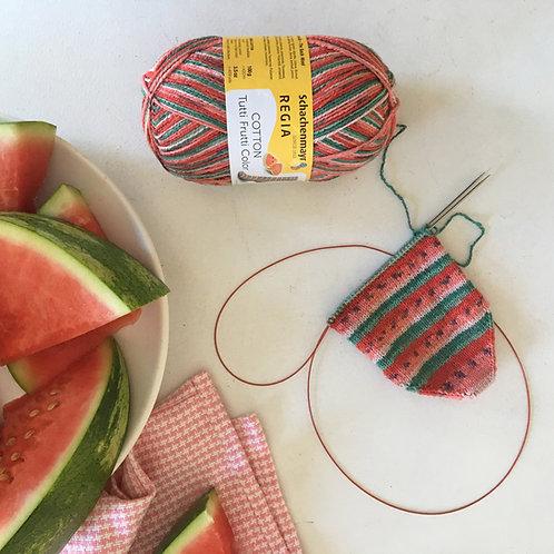 Regia Tutti Frutti cotton sock collection