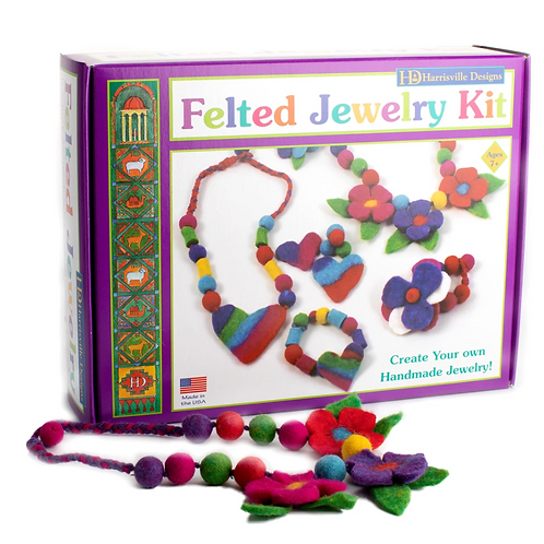 Felted Jewelry Kit
