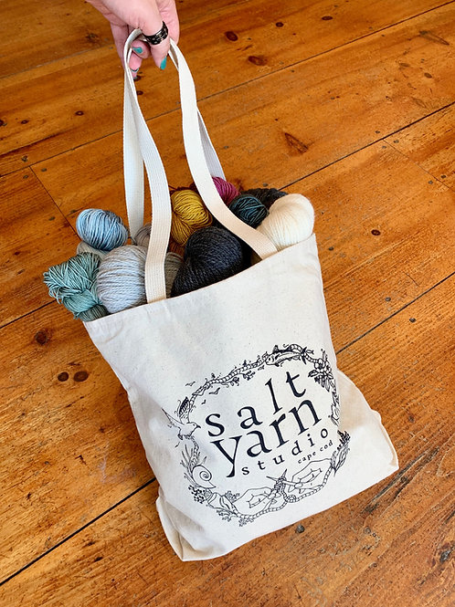 Salt Yarn USA made tote