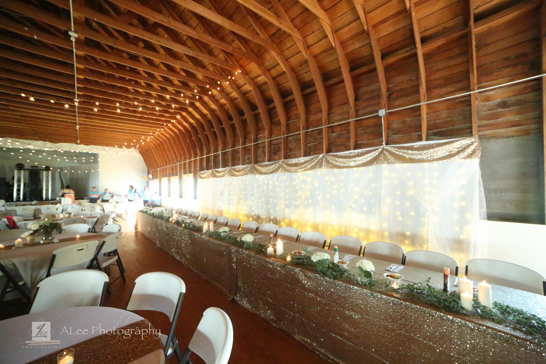 Glam Wedding at Brooten Pavilion