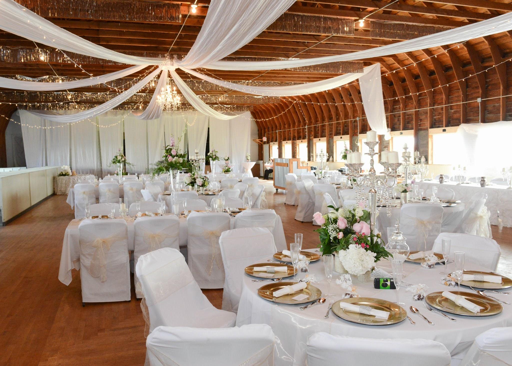 White Wedding at Brooten Pavilion
