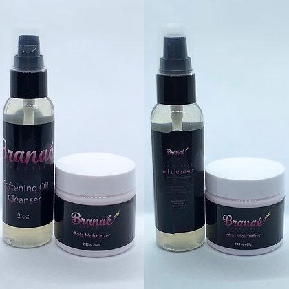 Softening Oil Cleanser & Rose Moisturizer Bundle