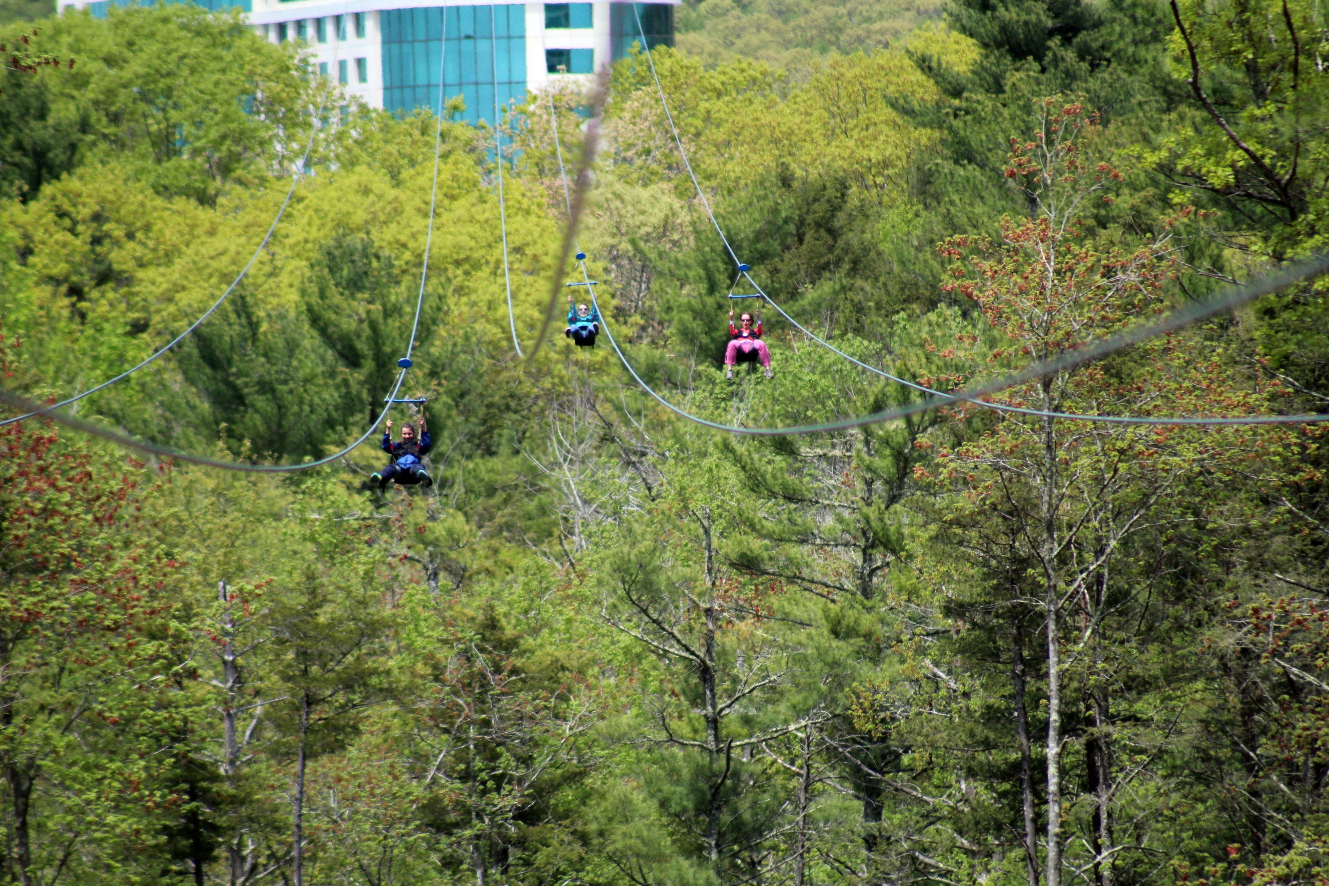 Foxwoods HighFlyer Zipline - 2019