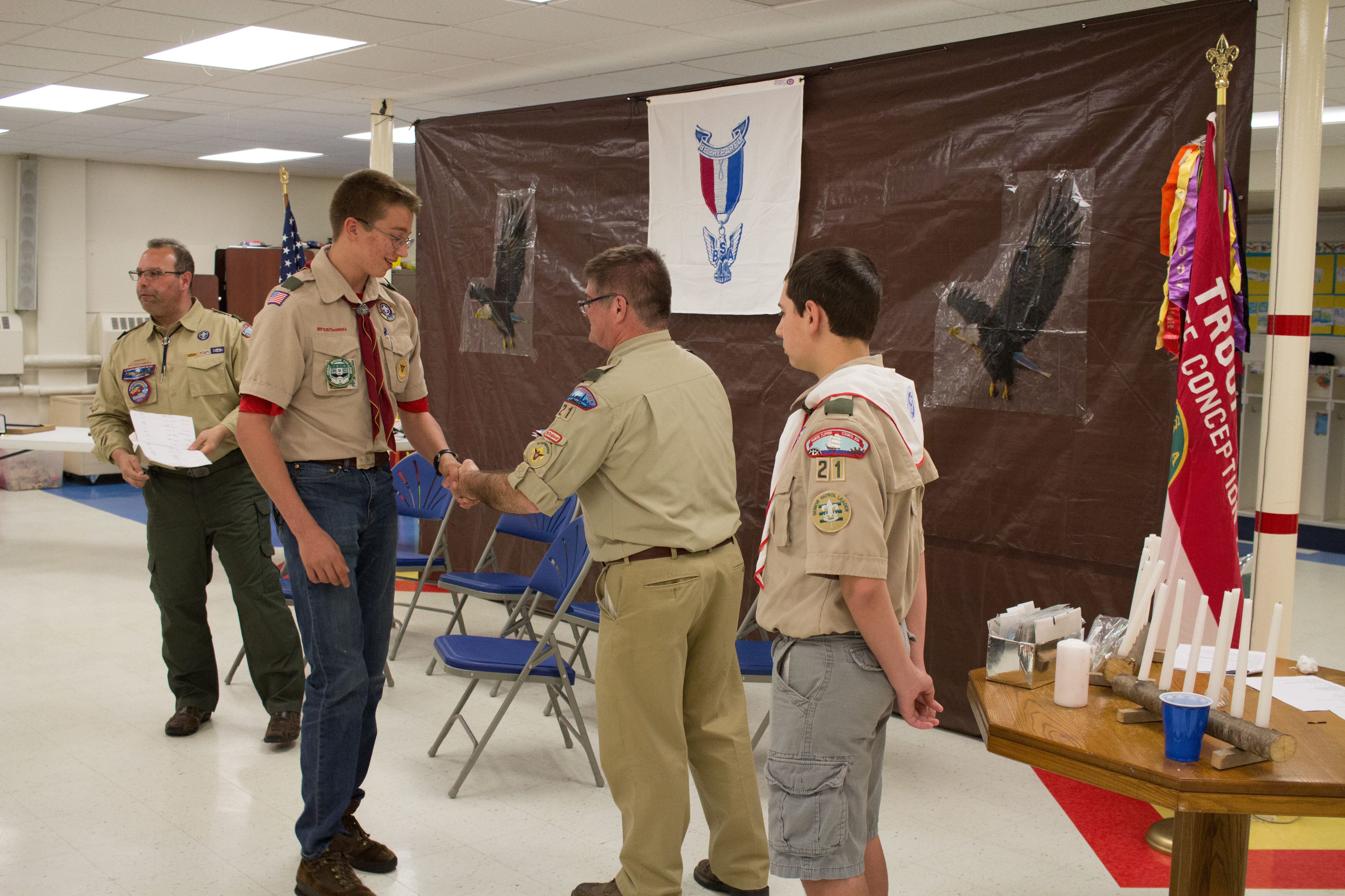 2016 Eagle Scout Court of Honor