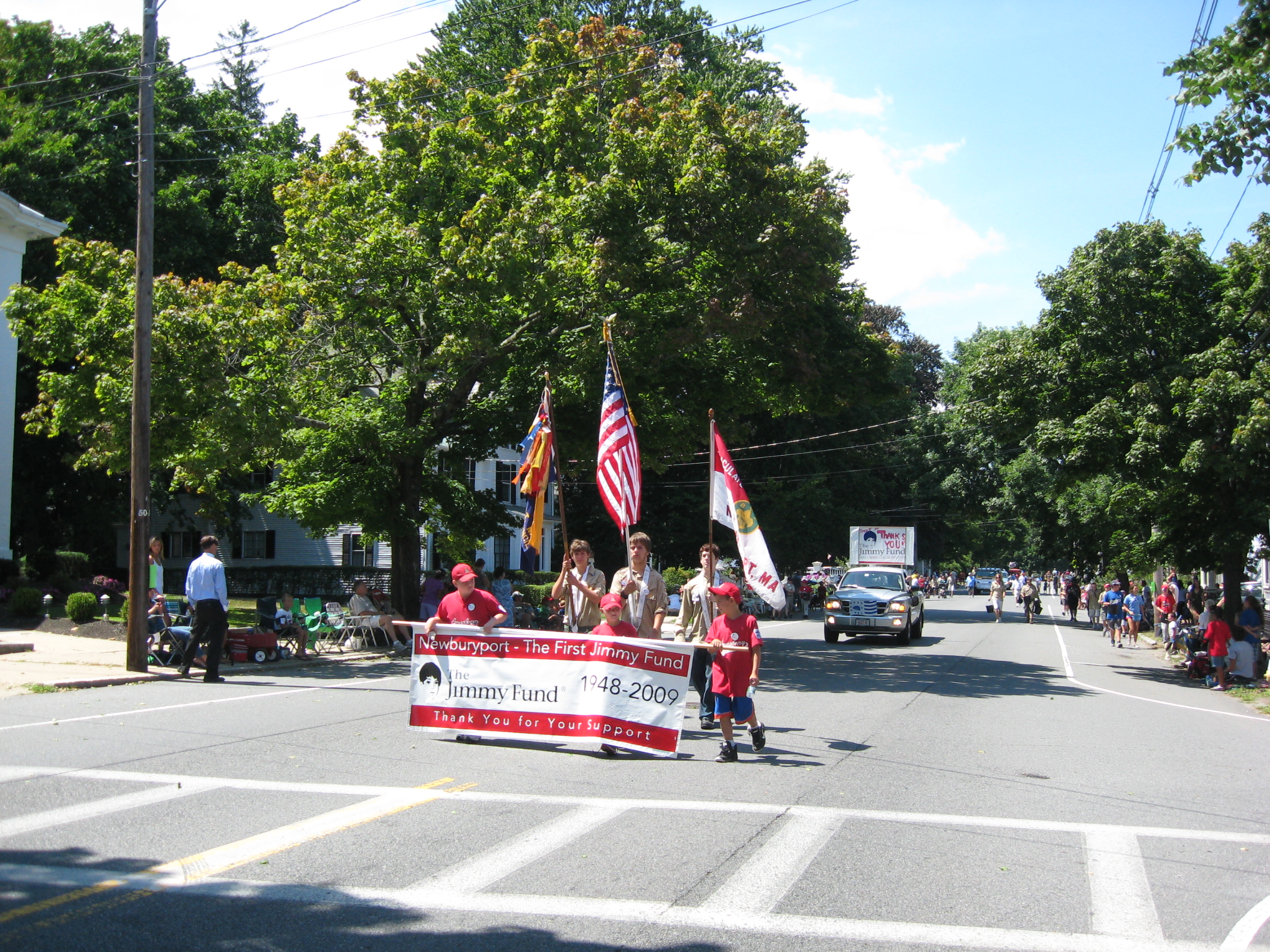 NBPT Parade - Jimmie Fund