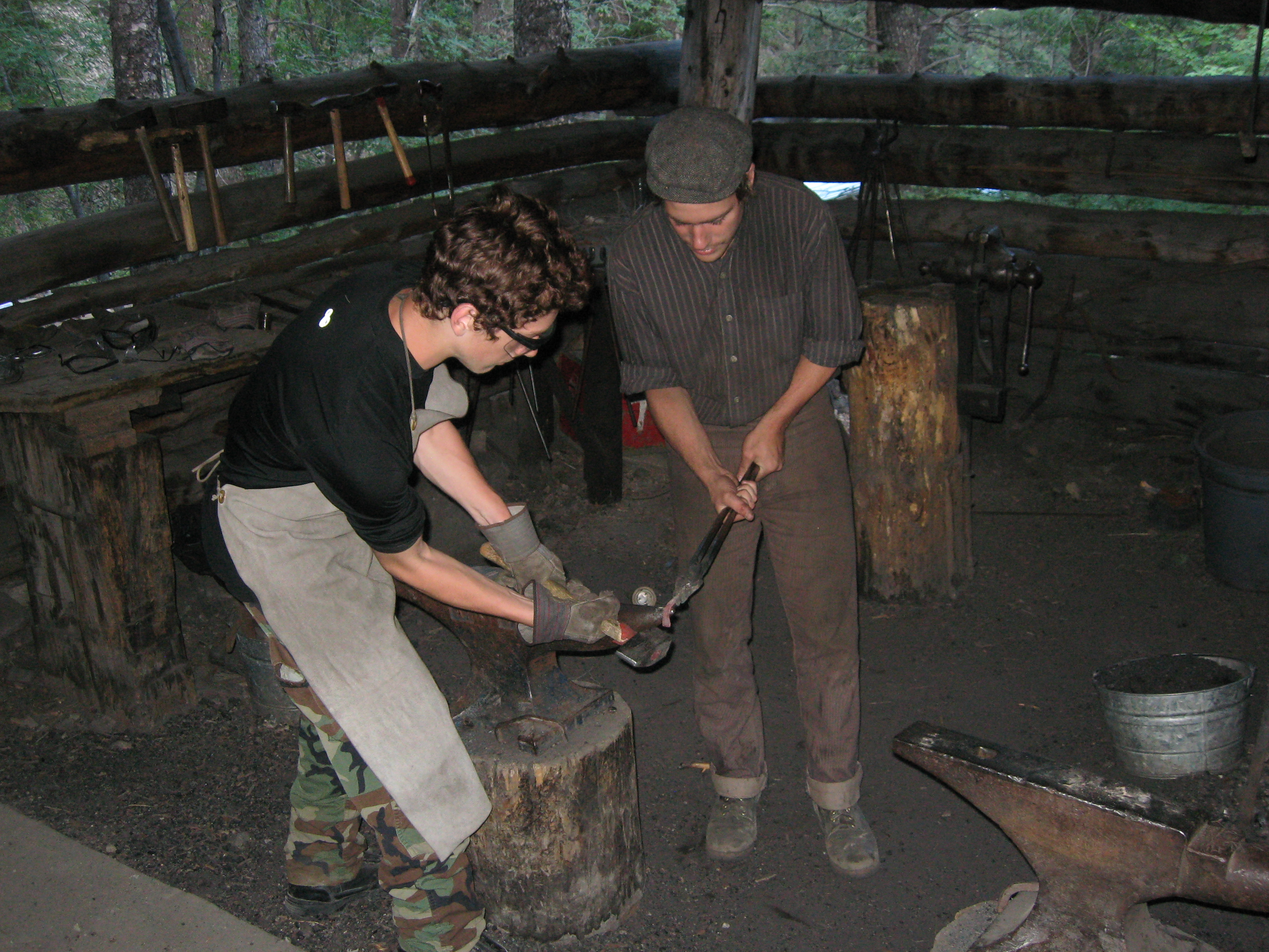 Philmont Scout Ranch metal working