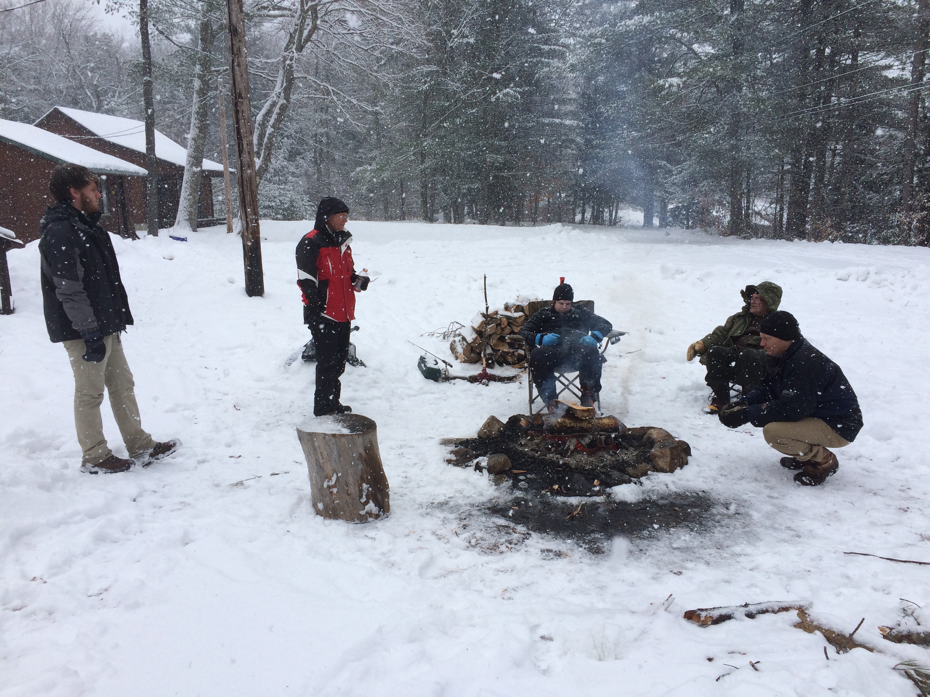 Winter Camping Trip 2015