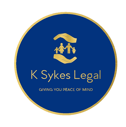Logo for K Sykes Legal  Giving you Peace of Mind