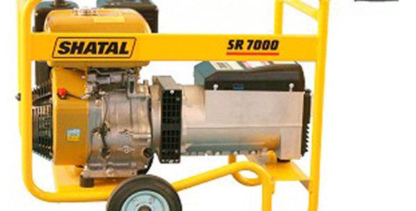 SHATAL 7000W גנרטור כולל מייצב מתח