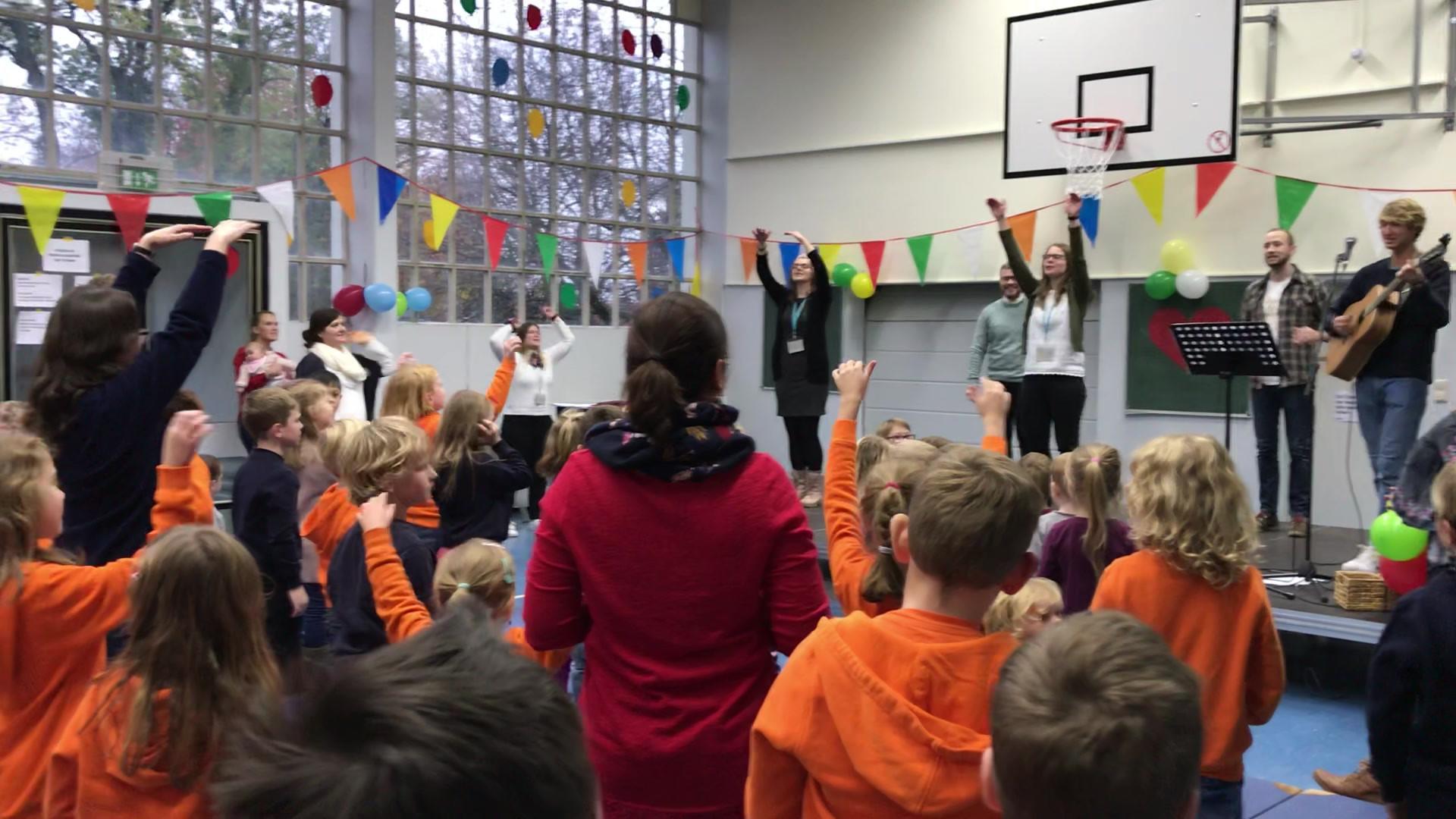 2019_11_Projektwoche und Familiengottesdienst Immanuel-Schule Bückeburg
